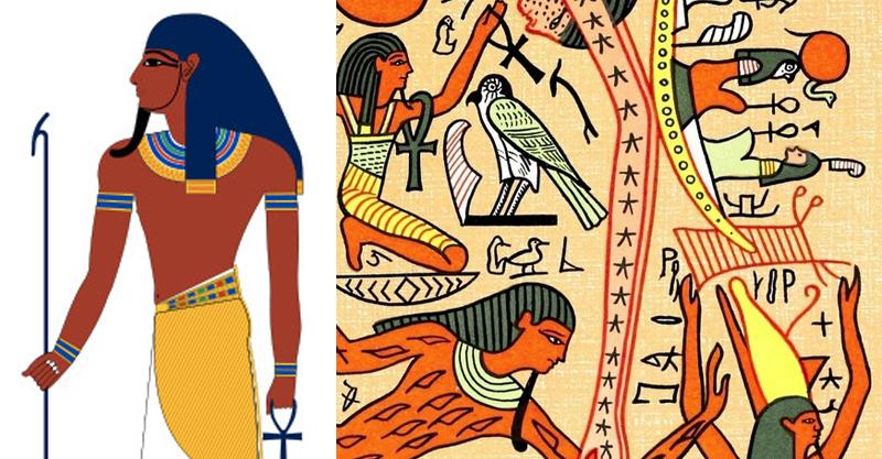 創造世界的方法原來超母湯!古埃及神明直接「擼出地球」 「天、地」兄妹關係比8點檔還複雜