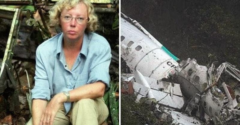飛機被雷擊空中解體!17歲少女靠著「爸爸的話」在叢林求生 10天後從河的另一端奇蹟出現
