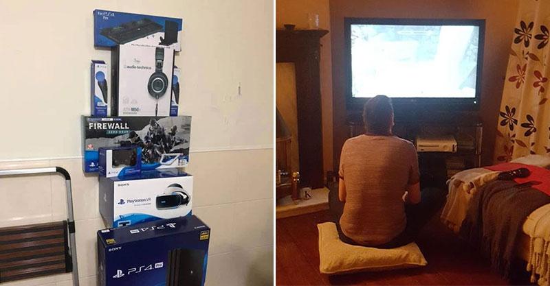 老婆豪氣買「PS4全都包」當夢幻禮物 帳單上「最貼心的大禮」讓老公爽翻
