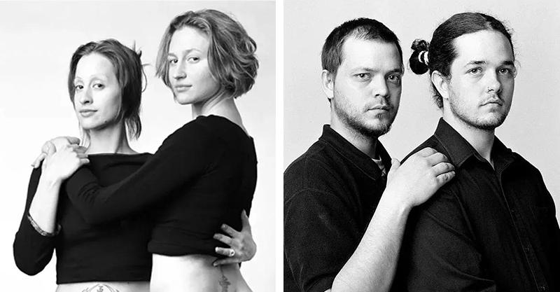 超狂攝影師花12年拍遍全球「沒血緣的雙胞胎」 連嘴角微笑弧度也一樣!