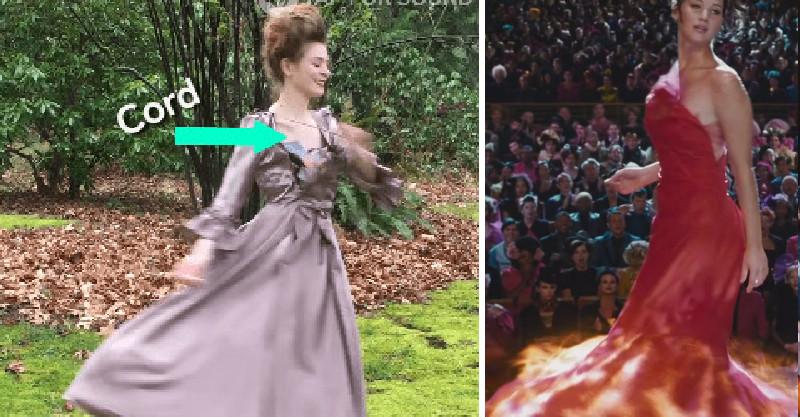 正妹在裙子裡「藏了1個機關」 她轉身後迪士尼才有的「奇蹟」發生