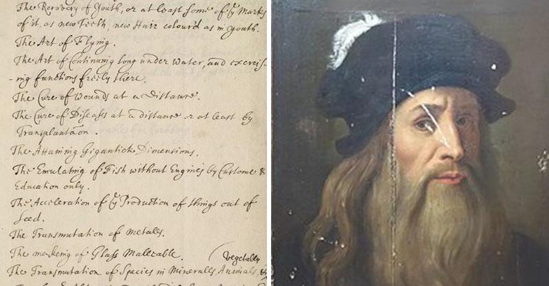 達文西「500年前寒假作業」要畫出整個米蘭 另一個科學家竟然還得研究「長生不老」