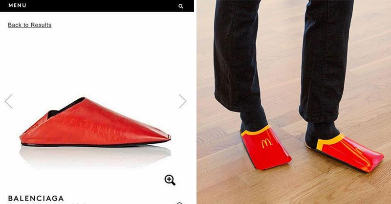 超天才網友把「麥當勞薯條」變身「名牌拖鞋」...現賺1.7萬!