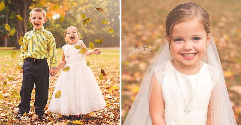 小女孩被判「人生只剩2年」...求媽媽讓她「嫁給最愛的人」照片惹哭全網:這就是她想要的全部了