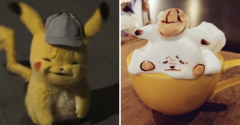 超魔性「雖小冏臉皮卡丘」在日本爆紅 網友瘋到「幫牠出周邊商品」:看一眼就著迷QQ