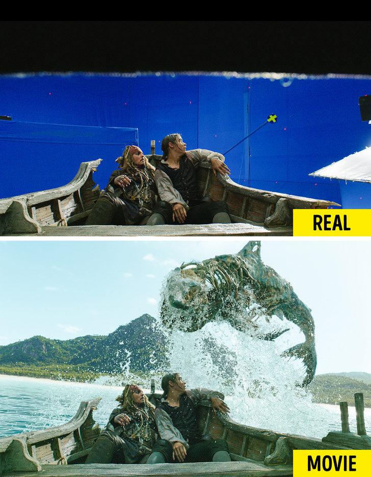 20張讓你「想二刷找破綻」的電影特效照 《水行俠》光看就覺得尷尬...