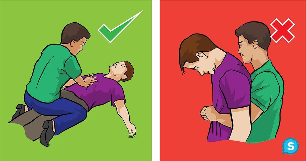9個隨時會害你痛苦一生的「錯誤急救迷思」 流鼻血時絕對不要把頭向後傾!