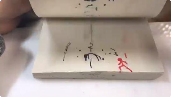日神人用「無印良品筆記本」做出「比七龍珠還狂」的30秒動畫