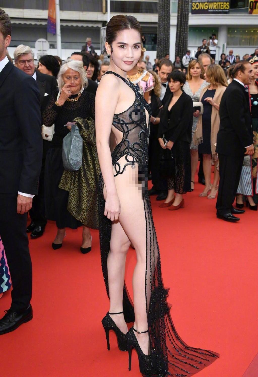 「越南第一美女」登紅毯...下半身「超大尺度」禮服引爭議!網傻眼:是不是走錯場了