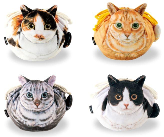 日網推「1:1貓咪包」4種花色都有 胖橘貓「蜜桃設計」讓貓奴搶買單!