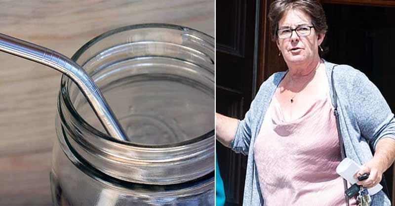 60歲婦為環保用不鏽鋼吸管 卻因為「被插進25公分」離開人間...醫:從眼球深至腦部
