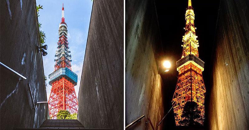 東京最新打卡點!樓梯包覆「整座東京鐵塔」超夢幻 神人透露「最佳取景點」:天氣很重要