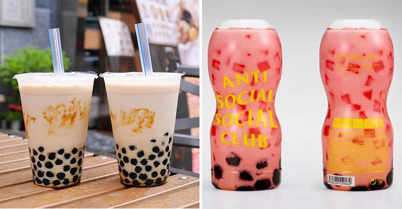 珍奶被日本人玩壞顛峰!TENGA推出草莓味「珍珠飛X杯」 老司機:牛奶要自備嗎 ?