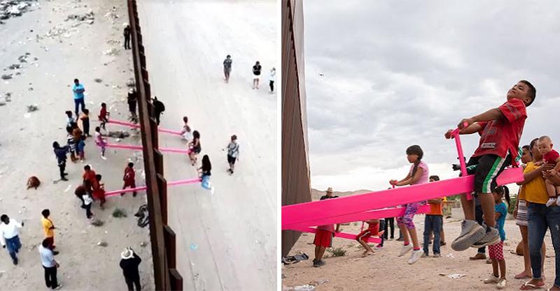 預算通過了!川普的「美墨高牆」準備動工 天才教授用「桃紅色翹翹板」輕鬆打破隔閡