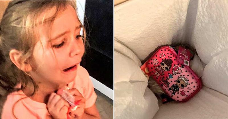 6歲女耍任性把「新買的鉛筆盒」丟進垃圾桶 虎媽送的「代替品」讓她秒後悔!