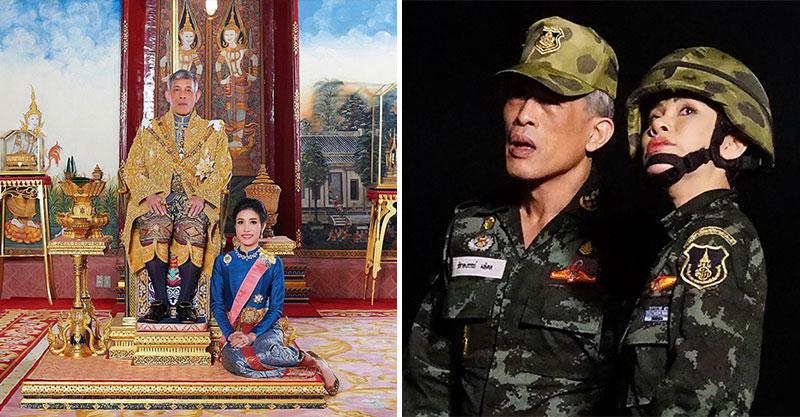 泰國皇室釋出「百年第一位貴妃」私下清涼照 民眾瘋搶看「她開飛機畫面」網站瞬間當機!