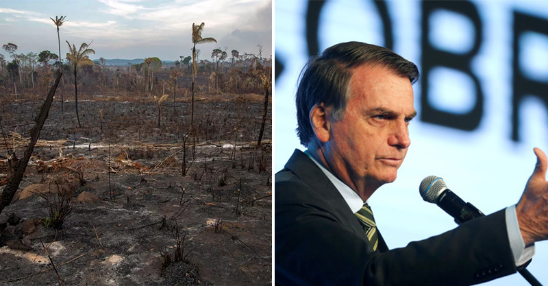 法國總統先道歉再說!巴西總統「拒絕6億金援」被罵爆 他:聖母院都沒做好…憑什麽說我?