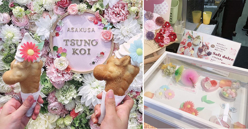 網美系「獨角獸霜淇淋」連頭飾都可自選 少女看「隱藏花海」超嗨:這才是重點❤