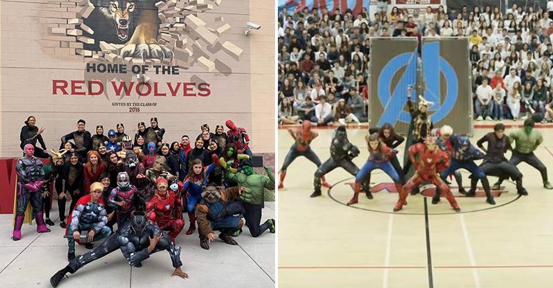 影/高校熱舞隊表演「復仇者聯盟」爆紅 他們100%還原「經典電影情節」300萬網友讚爆!