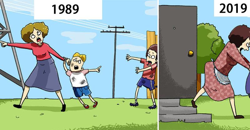 11張反映「人類被科技控制」的中肯插畫 為了發文「裝恩愛」已經是常態!
