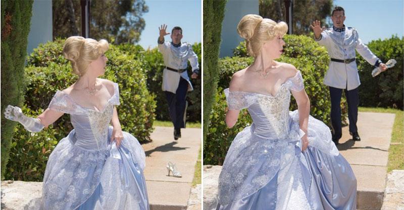 媽媽為女兒手作「灰姑娘禮服」藏驚喜 網放大看「右手設計」秒淚崩:最勇敢的公主!