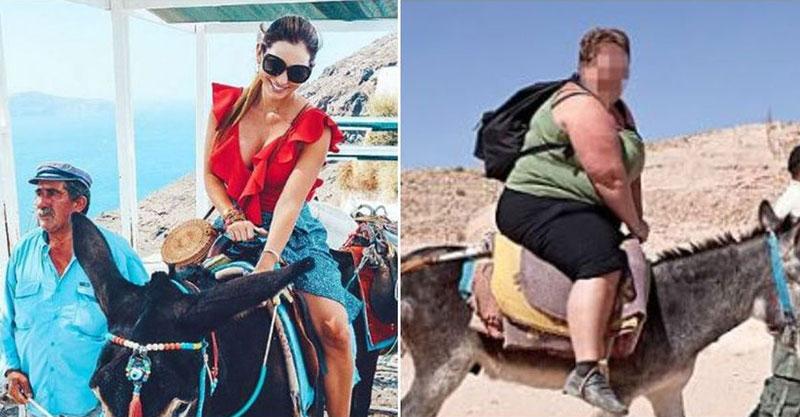 希臘「驢子計程車」被動保團體狂投訴 政府:「太胖的人」不准騎就好了!