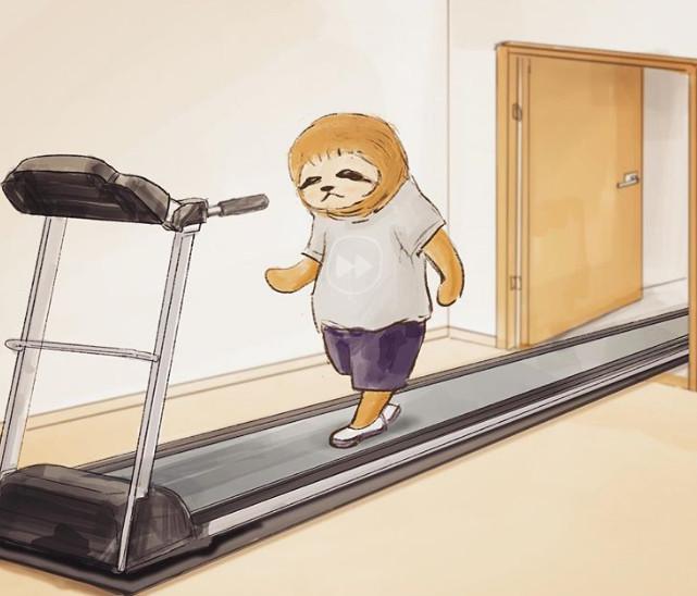 23張「重現樹懶生活日常」的可愛插畫 母雞訂外送…等到小雞長大「食物才送達」!
