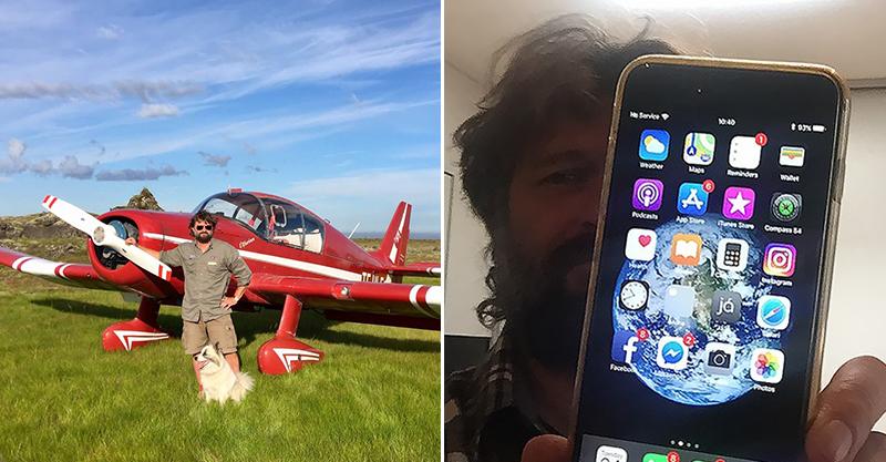 攝影師用iPhone空拍「手機卻從60公尺掉落」 一年後找回「開機」卻讓他傻眼!