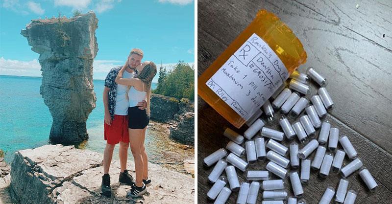 男友特製「愛情藥丸」當週年禮物 女友一打開「馬上被暖哭」而且還不能吃!