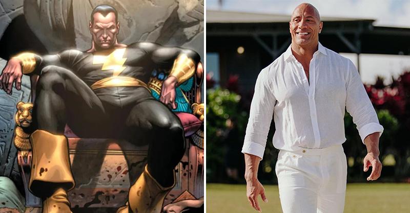 巨石強森證實DC反派《黑亞當》已準備開拍 粉絲為他「量身打造角色造型」竟獲本尊回應!