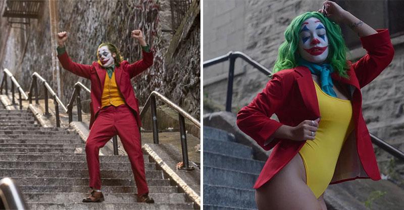 《小丑》劇中階梯成最新觀光勝地!粉絲湧入搶拍Cos照 女版小丑太性感