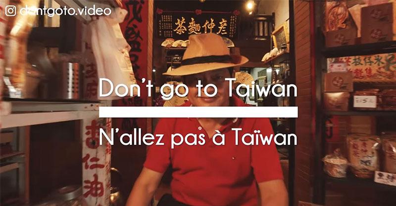 影/法團隊拍「不要去台灣」竟獲百萬點擊 嗆「寺廟超無聊」網看完卻狂推:好感動!