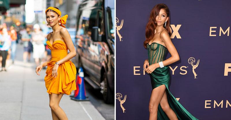 15個千黛亞「時尚模範生」完美穿搭 以為她是「蜘蛛人書呆子」那就錯了!