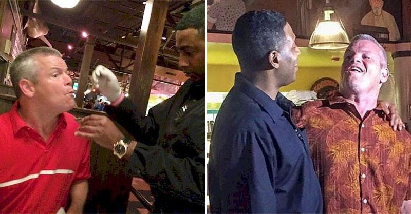 服務生因「餵客人吃飯」被肉搜 他停下工作「建立友誼」反被網友讚爆!