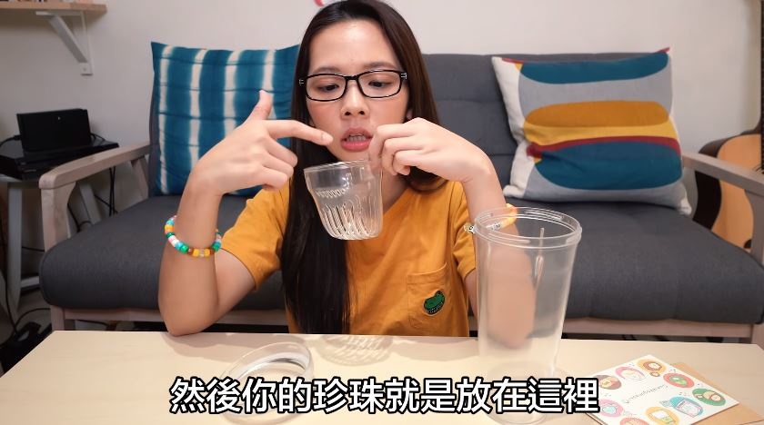影/滴妹開箱「免吸管喝珍奶」的環保杯 超方便功能「珍珠直接浮起來」再也不怕喝不到!