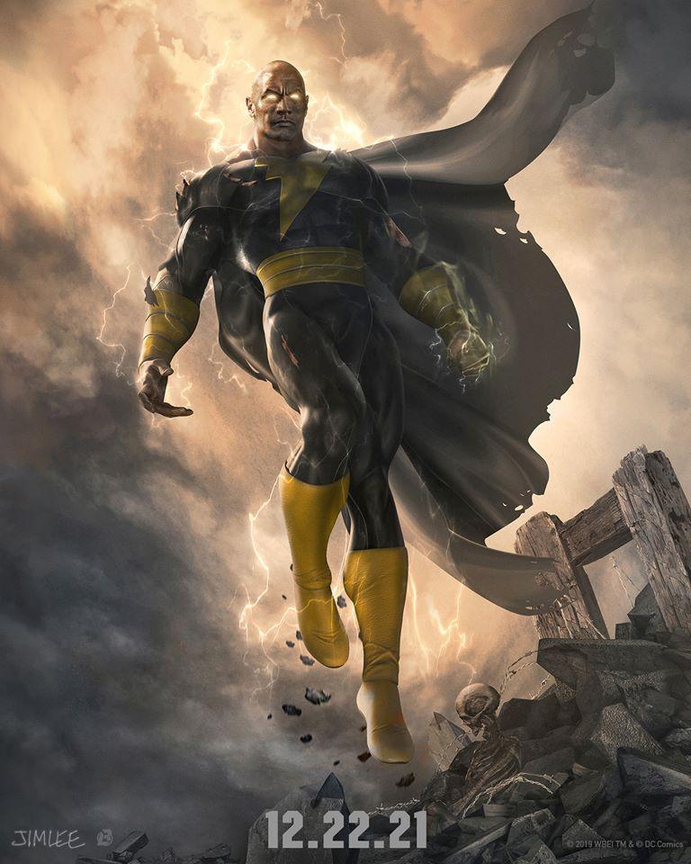 巨石強森DC電影《黑亞當》首張定裝照公開!「自帶閃電+8塊腹肌」粉絲尖叫:太帥啦~
