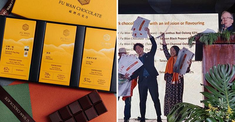 台灣奪下「巧克力界奧斯卡」冠軍!屏東小農「包攬3金牌」連業界權威都讚