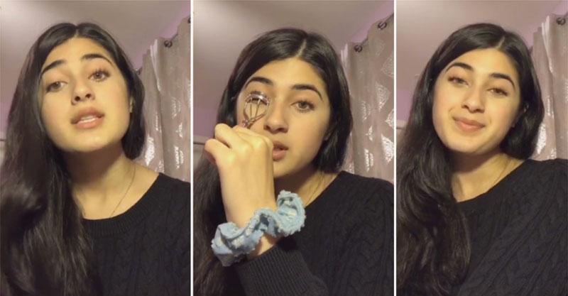 影/拍抖音假裝教化妝!女高中生宣導「中國的可怕」:快查新疆集中營