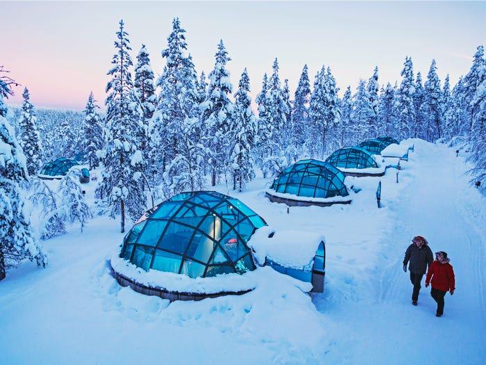 超唯美「極光冰屋」躺著看星空 内部溫馨設計曝光…讓你想立刻訂房!