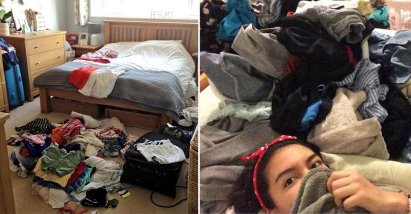 21個「骯髒懶女生才看得懂」的悲慘爆笑生活瑣事 用鏡子自拍超危險XD