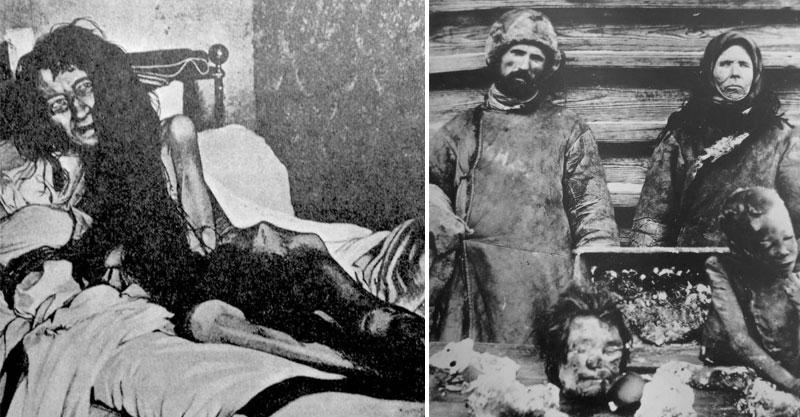 15個「聽完背後故事會害你失眠3晚」的恐怖真實照片,#9 窮到賣自己親人的屍體肉...
