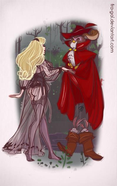 迪士尼公主「穿性感薄紗」超辣照 長髮公主「只靠頭髮遮全身」太害羞!