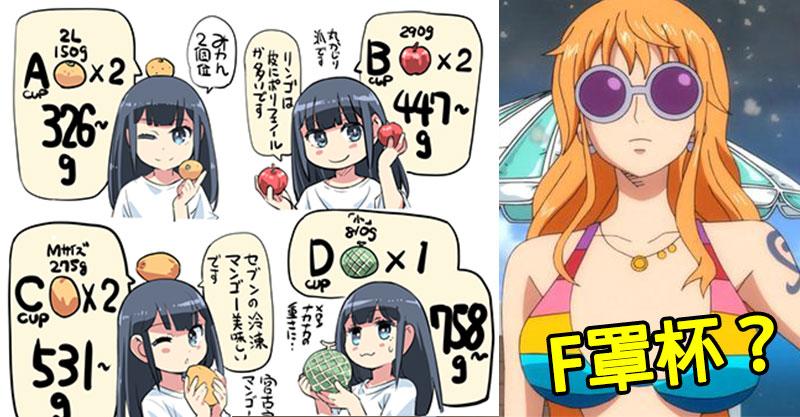 D Cup到底有多重?網友用「水果比喻」沒奶總吃過水果吧