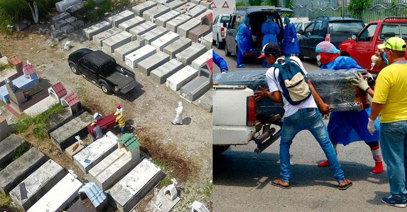 厄瓜多「堆滿屍體」沒人敢住 孝子屍堆「找爸爸5天」:政府叫我等
